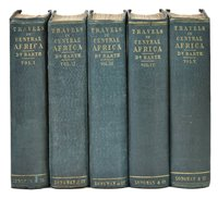 Lot 12-Barth (Henry). Travels and Discoveries in North and Central Africa, 1857-8