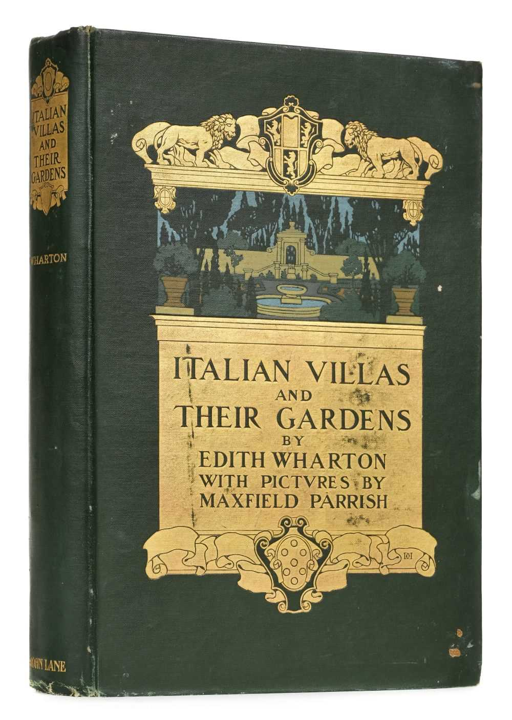 Lot 756-Wharton (Edith). Italian Villas and their Gardens, 1st UK edition, 1904