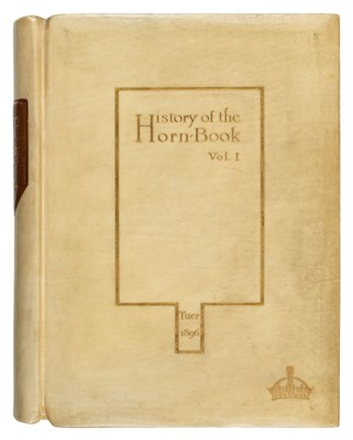 Lot 391 - Tuer (Andrew W.). History of the Horn-book, 1896