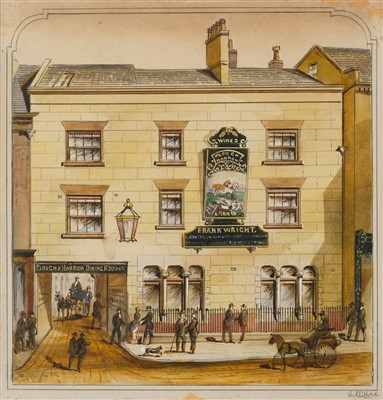 Lot 433 - Clifford (C., late 19th century). The Plough & Harrow Inn, circa 1880s