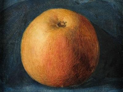 Lot 439 - Still Life. An Apple, circa 1940s