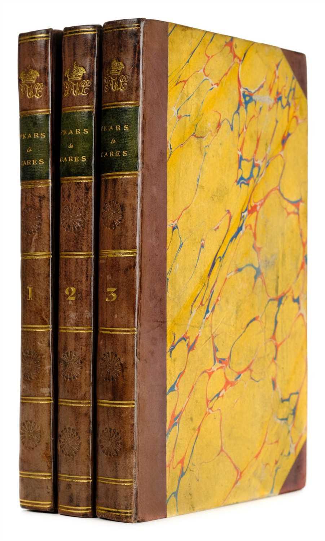 Lot 360 - Carr (E. D.). Fears and Cares, A Novel, 1821