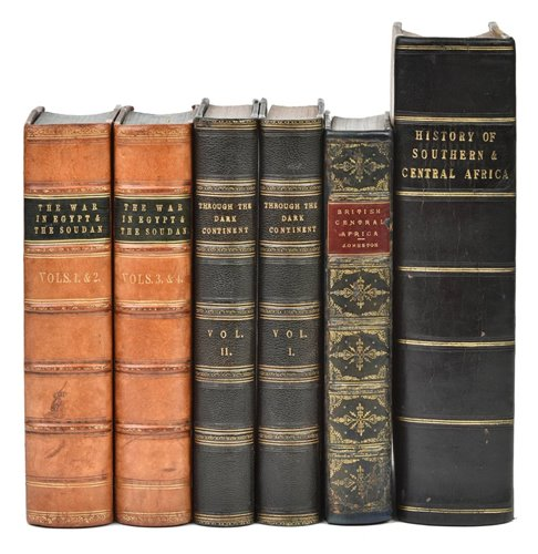 Lot 6-Archer (Thomas). The War in Egypt and the Soudan, 1st edition, 1887