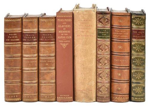 Lot 3-Alpine Club. Peaks, Passes, and Glaciers, 4 volumes, 1859-1932