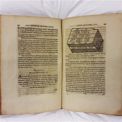 Lot 45-Worm (Ole). Danicorum Monumentorum, 1643