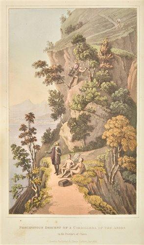 Lot 29-Cochrane Charles Stuart). Travels in Colombia, 1825