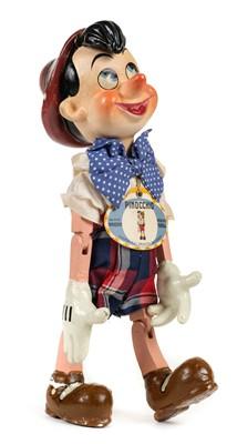 Lot 516-Furga. Pinocchio puppet, circa 1945