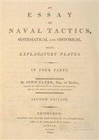 Lot 35-Clerk (John). An Essay on Naval Tactics, 2nd edition, 1804