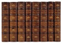 Lot 14-Kinglake (Alexander William). The Invasion of the Crimea, 8 volumes, 1st edition, 1863-87