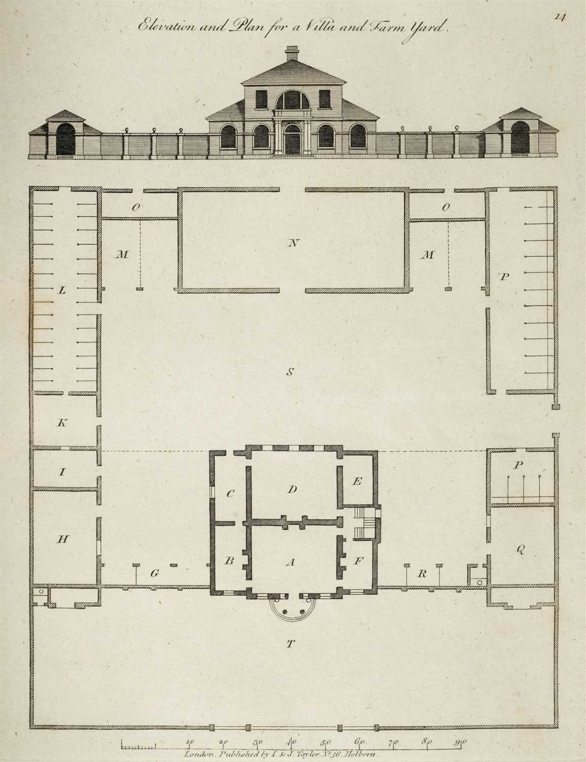 Lot 311 - Miller (John). The Country Gentleman's Architect, 1793