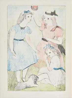 Lot 565-Mansfield (Katherine). Garden Party, [1947]