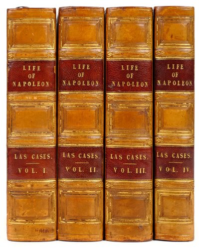 Lot 16-Las Cases (Emmanuel, Marquis de). The Life, Exile, and Conversations of the Emperor Napoleon, 1835