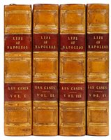 Lot 16-Las Cases (Emmanuel, Marquis de). The Life, Exile, and Conversations of the Emperor Napoleon, 1835
