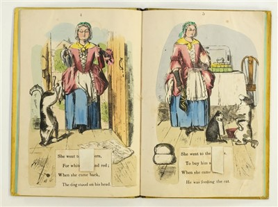 Lot 509-Moveable. The Moveable Mother Hubbard, Dean & Son, circa 1857
