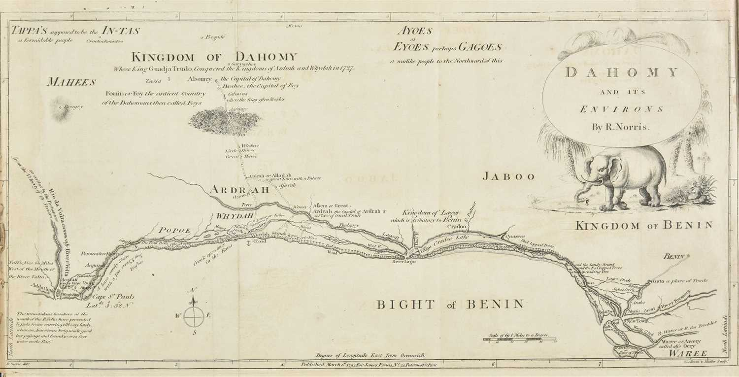 Lot 9-Dalzel (Archibald). The History of Dahomy, an Inland Kingdom of Africa, 1793