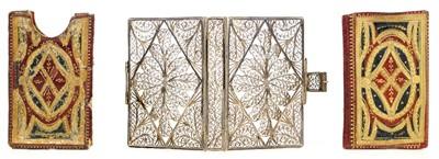Lot 275 - Silver Filigree Binding. London Almanack, 1782