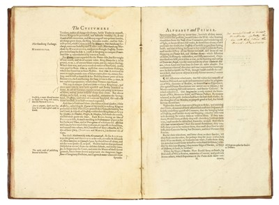Lot 7 - Milles (Thomas). The Custumers Alphabet and Primer, 1608