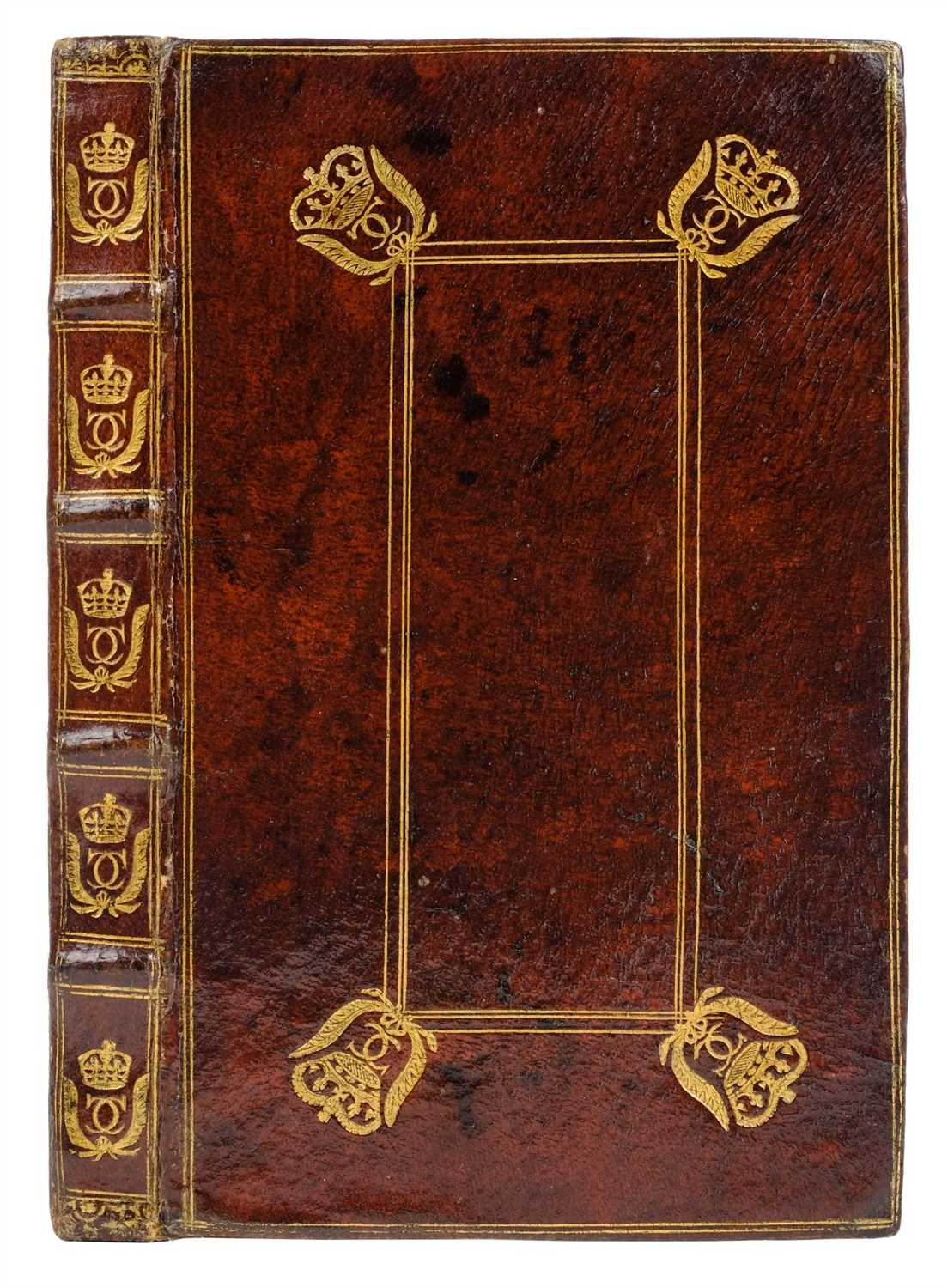 Lot 60-Royal binding. English Military Discipline, 2nd edition, 1678