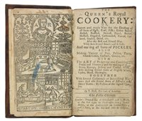 Lot 450 - Hall (T.). The Queen's Royal Cookery, 5th edition, [1730?]