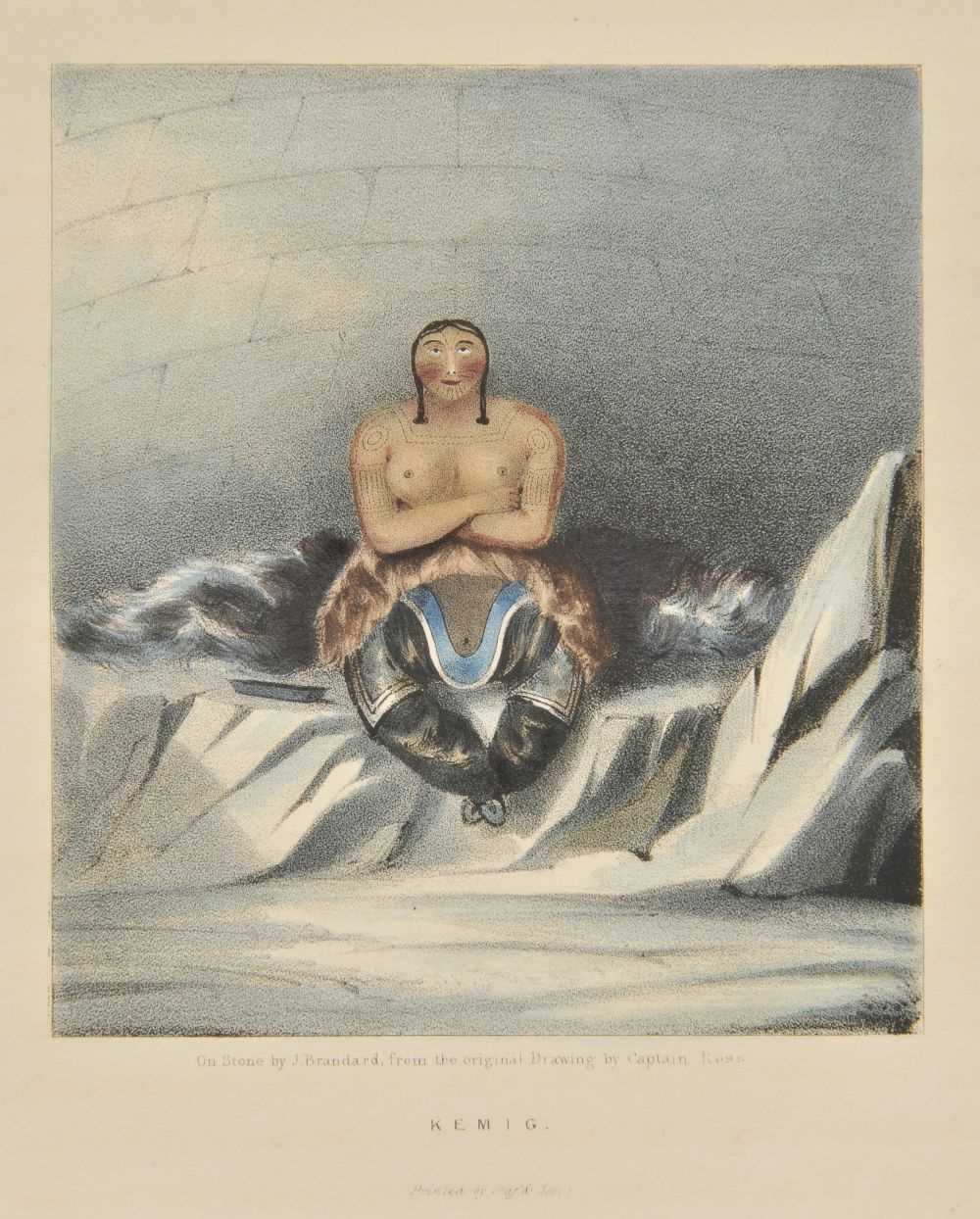 Lot 3-Beechey, Frederick William. A Voyage of Discovery towards the North Pole, 1843.
