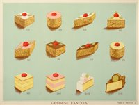 Lot 460 - Lewis (T. Percy & Bromley, A.G.). The Book of Cakes