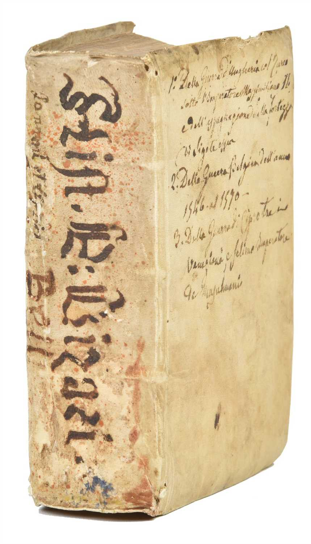 Bizzarri (Pietro). Pannonicum bellum [bound with:] Cyprium bellum, 1st...