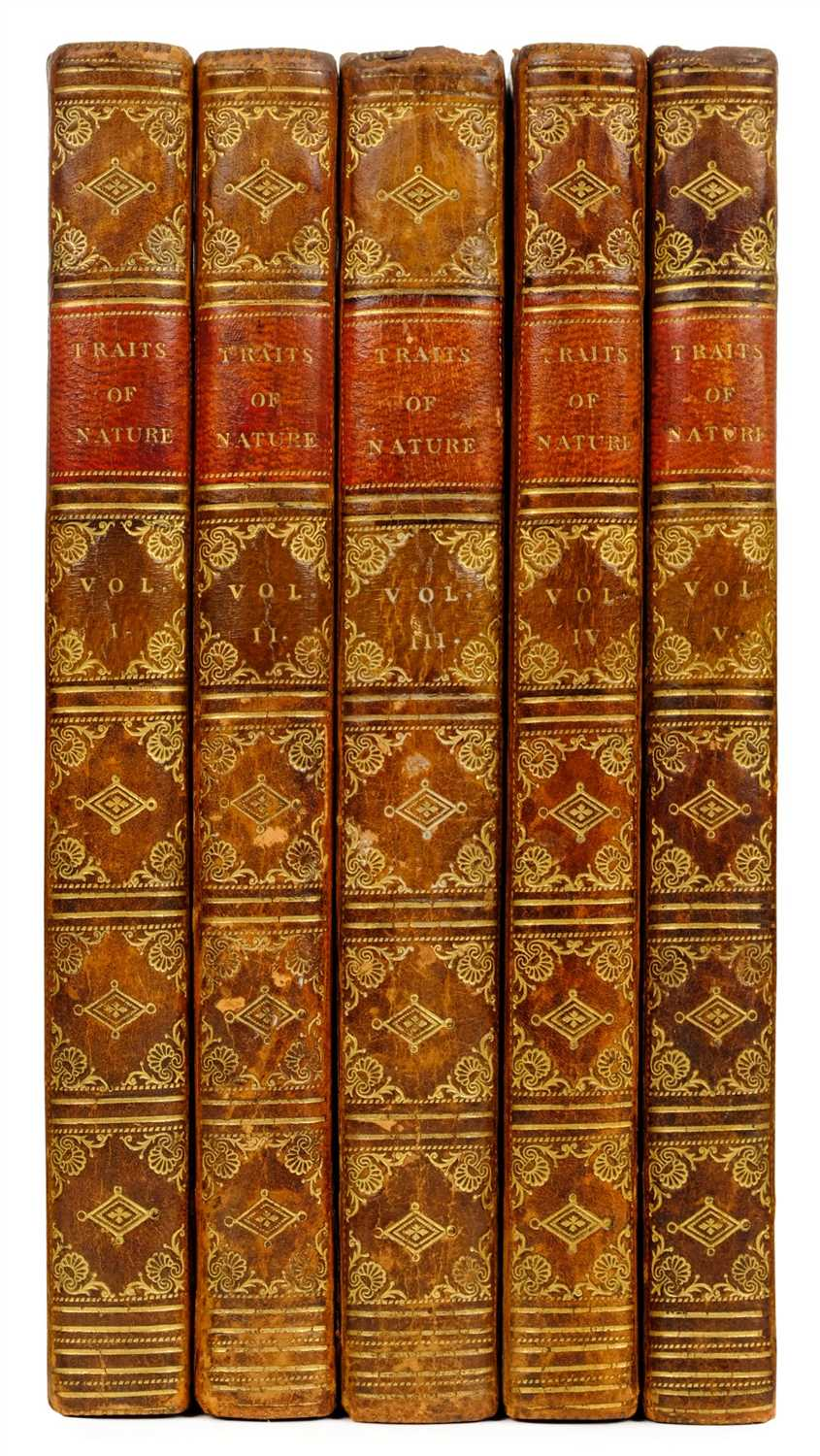 Lot 348 - Burney [Sarah Harriet]. Traits of Nature, 5 volumes, 1st edition, for Henry Colburn, 1812