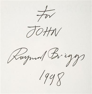 Lot 551-Briggs (Raymond). The Snowman, 1st edition, 1978