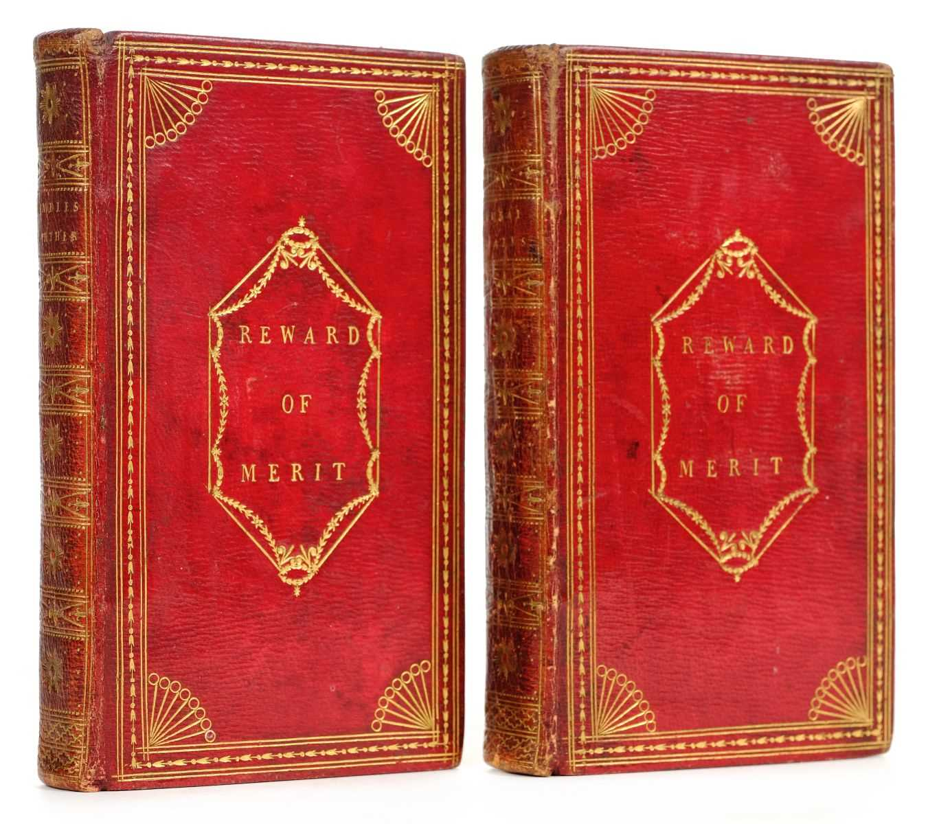 Lot 328 - Smith (Charlotte Turner). Rural Walks [and] Rambles Farther, red morocco gilt, 1800