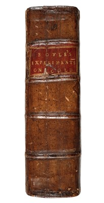 Lot 32-Boyle (Robert). New Experiments and Observations Touching Cold, 1665
