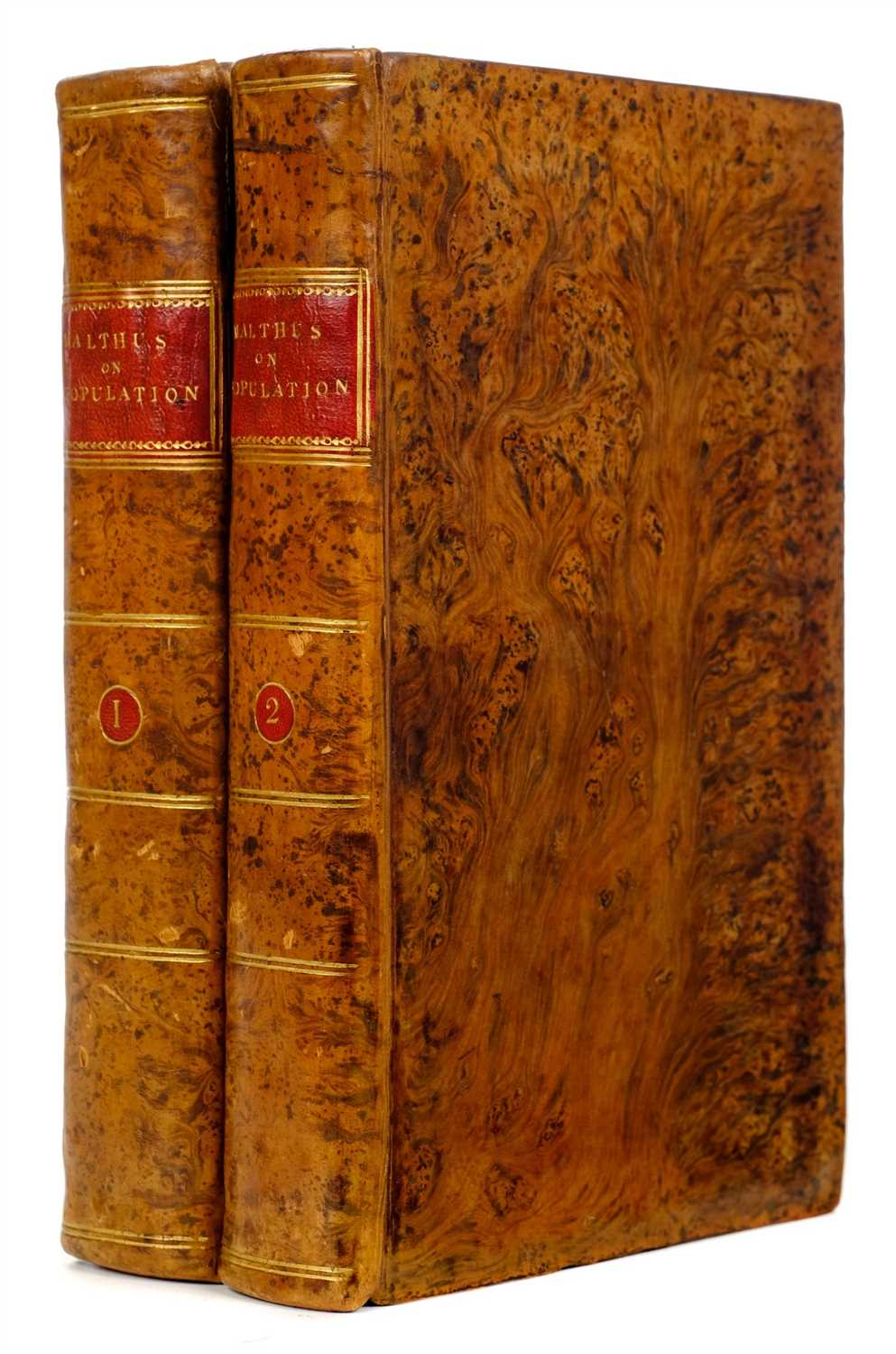 Lot 338 - Malthus (Thomas). An Essay on the Principle of Population, 3rd edition, 1806