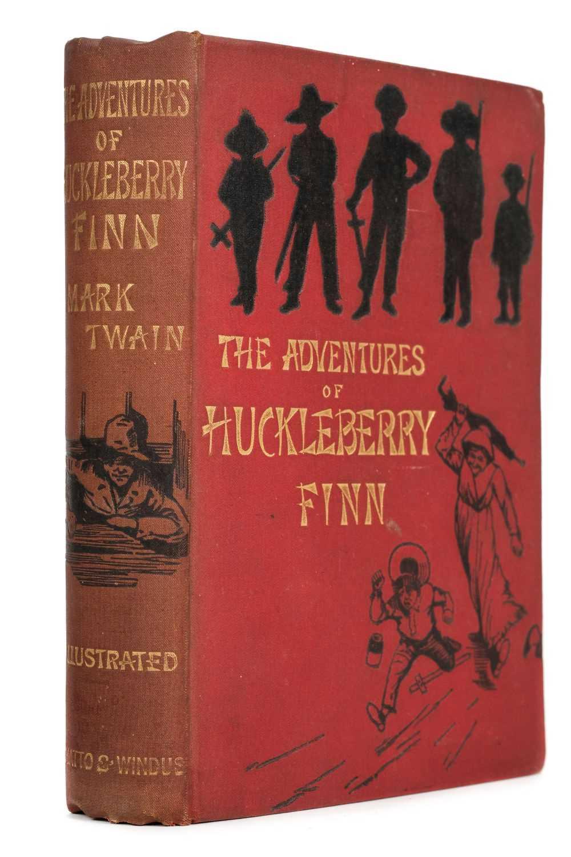 Lot 753-Twain (Mark). The Adventures of Huckleberry Finn, 1st edition, 1884