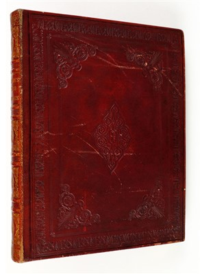 Lot 343-Grahame (James). British Georgics, 1st edition, 1809, extra-illustrated with floral watercolours