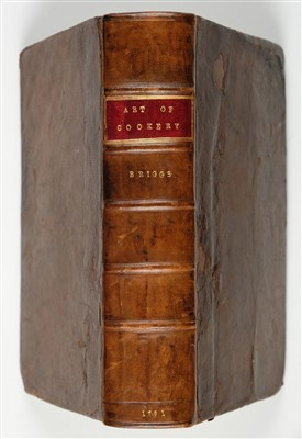 Lot 304 - Briggs (Richard). The English Art of Cookery, 1791