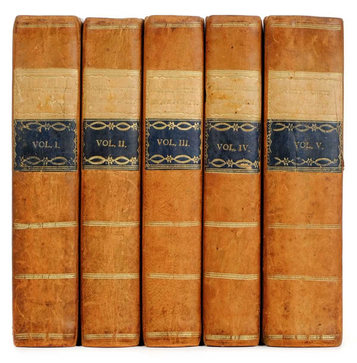 Lot 324 - Pratt [Samuel Jackson]. Family Secrets, 5 volumes, 1st edition, 1797
