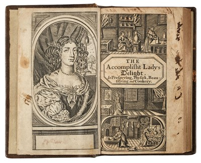 Lot 71-Woolley (Hannah). The Accomplish'd Ladies Delight, 3rd edition, enlarged, 1683
