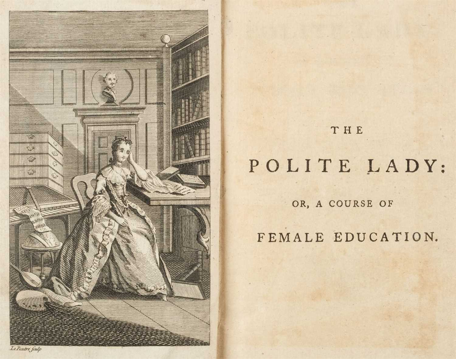 Lot 231 - Allen (Charles). The Polite Lady: or, a Course of Female Education, 1st edition, 1760