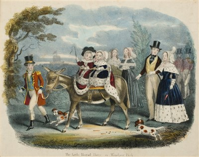 Lot 429 - Victoria (Queen of the United Kingdom, 1819-1901). The Little Royal in Windsor-Park, circa 1850