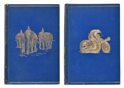 Lot 561-Kipling (Rudyard). The Jungle Book; The Second Jungle Book, 1894 & 1895