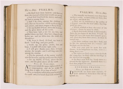 Lot 238 - Baskerville Press. The Book of Common Prayer, 1762