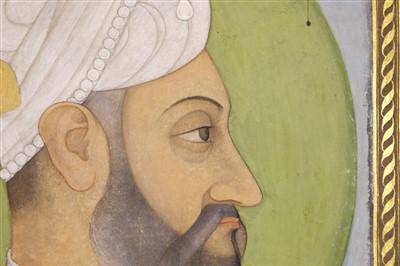 Lot 401-Mughal School. Portrait of Aurangzeb, circa 1700