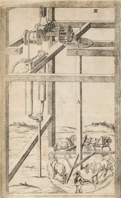 Lot 25-Caus (Issac de). New and Rare Inventions of Water-Works, 1659