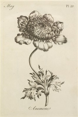 Lot 233-Sayer (Robert, publisher). The Florist, 1st edition, [c.1760]