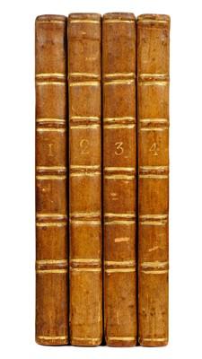 Lot 255 - Treyssac de Vergy (Pierre Henri). The Mistakes of the Heart, 4 volumes, 1771