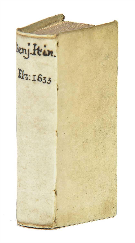 Lot 2-Benjamin of Tudela. Itinerarium, Leiden: Elzevir, 1633