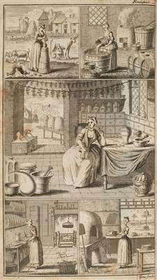 Lot 174 - Bailey (Nathan). Dictionarium Domesticum, Being a New and Compleat Household Dictionary, 1736