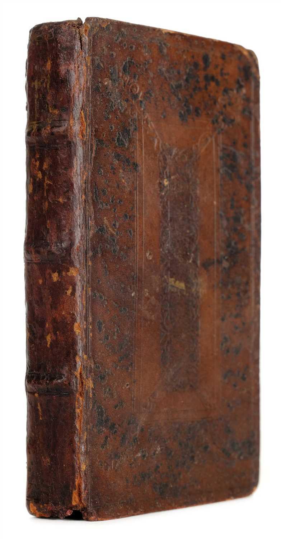Lot 19-Gracián y Morales (Baltasar). The Heroe, 1st edition in English, 1652