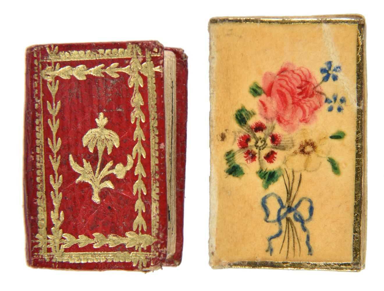Lot 504-Miniature Books. Les Petits Montagnards, Année 1822, [1821]