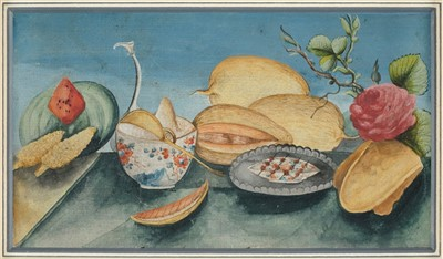 Lot 435 - Prints, watercolours and engravings, 19th & 20th century