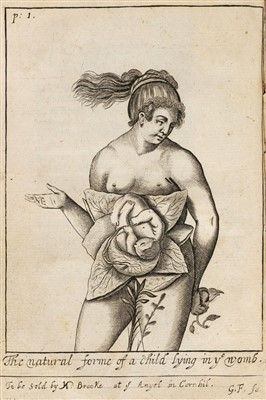 Lot 24-Bourgeois (Louise). The Compleat Midwife, 1659